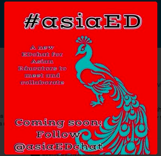 Moderating #asiaed Chat